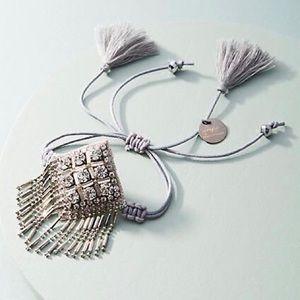 Anthropologie Deepa Fringed Friendship Bracelet